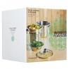 Cuiseur à pâtes avec insert vapeur Italian Collection World of Flavors KITCHENCRAFT KCPASTAPOT