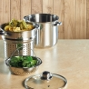 Cuiseur à pâtes avec insert vapeur Italian Collection World of Flavors KITCHENCRAFT KCPASTAPOT