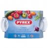 Cocotte en verre ovale 5.8 L Classic PYREX 460A000