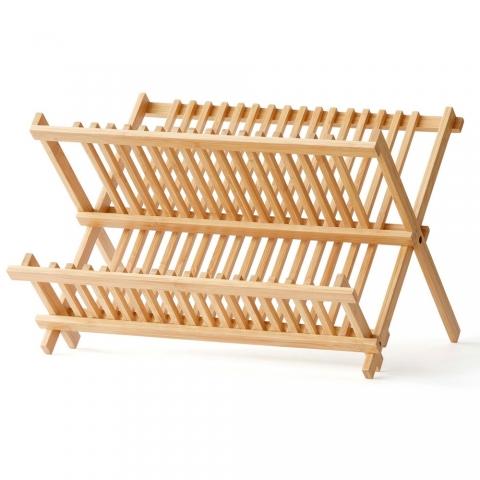 Egouttoir en bambou 42 X 35 CM F&H