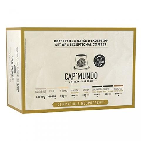 Coffret découverte X 80 CAP MUNDO