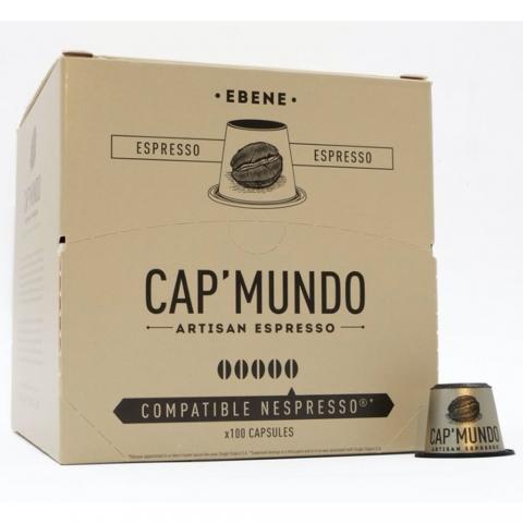 Capsules à café Ebène X 100 CAP MUNDO