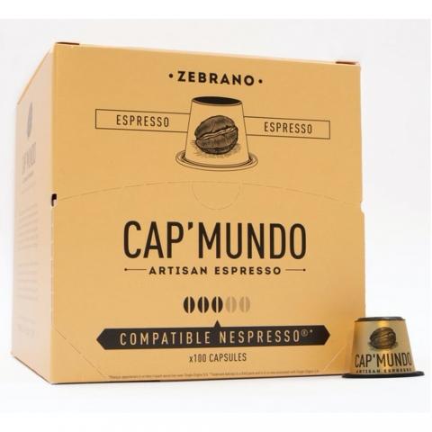 Capsules à café Zebrano X 100 CAP MUNDO