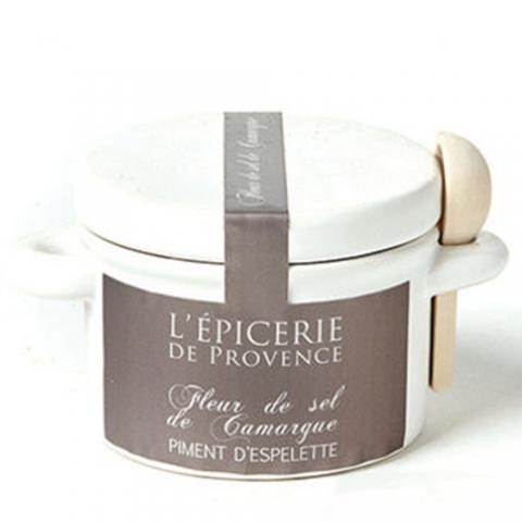 Fleur de sel de Camargue au piment d'Espelette L'EPICERIE DE PROVENCE