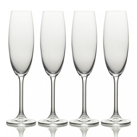 Set de 4 flûtes à Champagne Julie Mikasa KITCHENCRAFT 5191918
