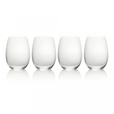 Set de 4 verres à vin sans pied Julie Mikasa KITCHENCRAFT 5193458