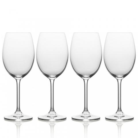 Set de 4 verres à vin à pieds Julie Mikasa KITCHENCRAFT 5191917