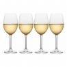 Set de 4 verres à vin blanc à pieds Julie Mikasa KITCHENCRAFT 5191915