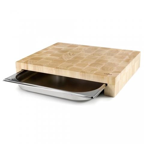 Planche à découper en bois 34 CM LACOR 60592