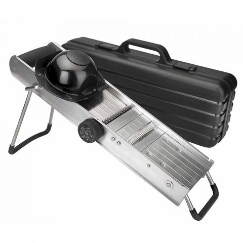 Mandoline professionnelle en inox LACOR 60357