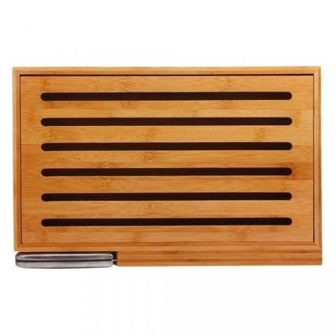 Planche à pain en bambou avec couteau ACCESS