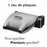 Plaques gaufres coeur Premium Gaufres LAGRANGE 010522