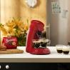 Machine à café à dosettes Senseo Original Rouge Intense PHILIPS HD6554/91