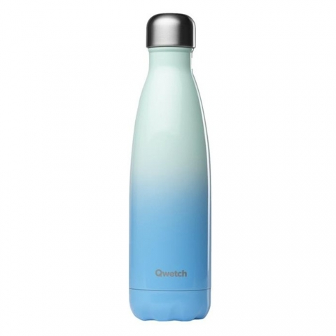 Bouteille isotherme Sky Bleu 500 ML QWETCH QD3376