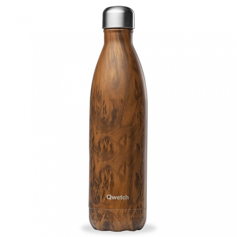 Bouteille isotherme Wood 750 ML QWETCH QD3274