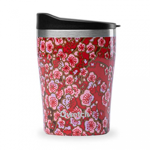 Mug isotherme Flowers Rouge 240 ML QWETCH QD3015