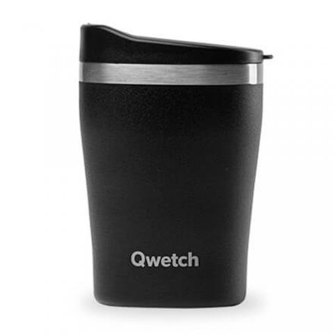 Mug isotherme All Black 240 ML QWETCH QD3019