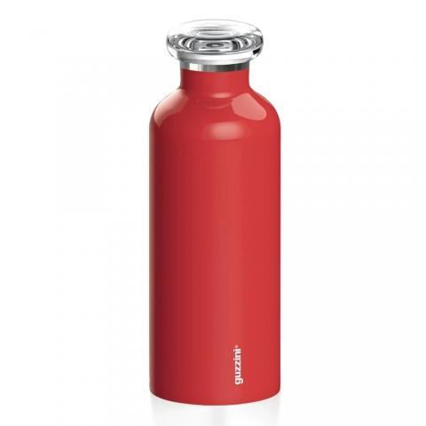 Bouteille isotherme Energy Rouge On The Go GUZZINI 11670031