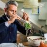 Couverts à salade Tierra Blanc Lait GUZZINI 106101156