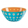 Bol Le Murrine 20 CM Bleu Orange Blanc GUZZINI 279420145