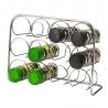 Rack à épices chromé 12 flacons TELLIER NC5016050