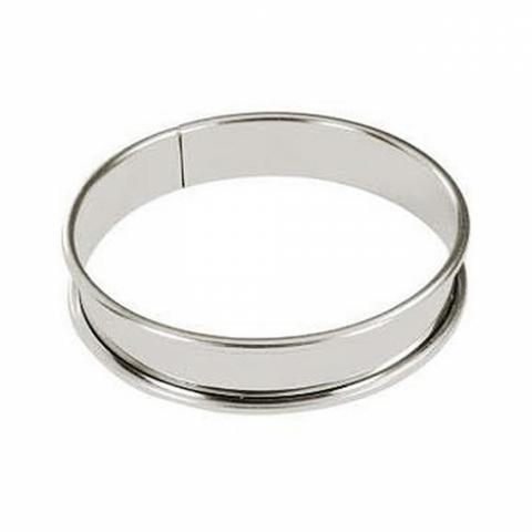 Cercle à tarte haut inox 8 CM GOBEL 834920