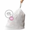 Sacs poubelle sur-mesure Code M 45 L X 20 SIMPLEHUMAN CW0173