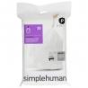 Sacs poubelle sur-mesure Code P 50-60 L X 20 SIMPLEHUMAN CW0175