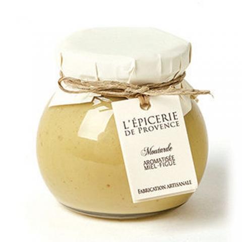 Moutarde aromatisée miel-figue 190 G L'EPICERIE DE PROVENCE