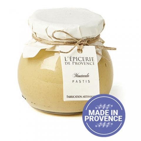 Moutarde aromatisée au pastis 190 G L'EPICERIE DE PROVENCE