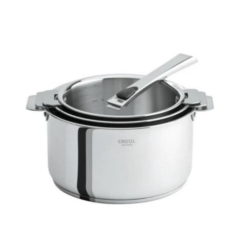 Coffret 3 casseroles Casteline CRISTEL
