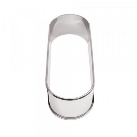 Cadre inox ovale extensible