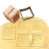 Tampon pour biscuits bois Noël et découpoir Scrapcooking