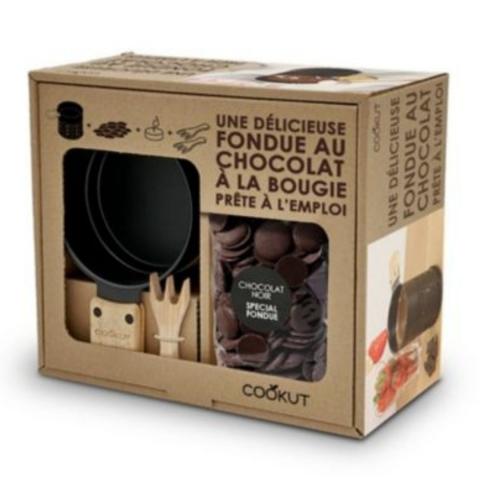 Coffret Fondue chocolat à la bougie COOKUT