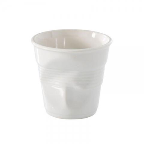 Gobelet REVOL Froissé blanc