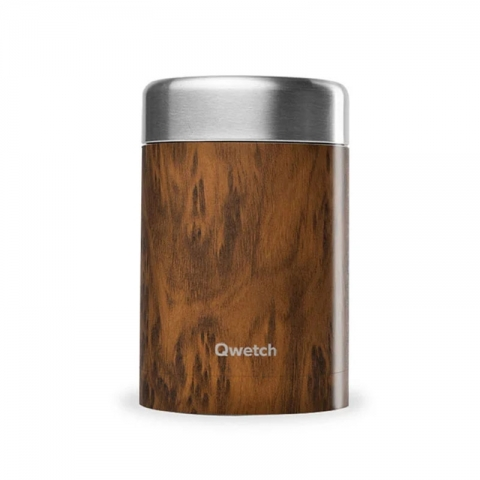 Boîte repas isotherme 650ml Wood QWETCH QE2084