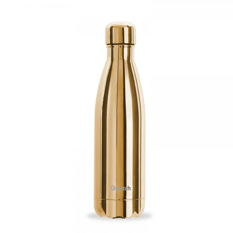Bouteille isotherme Gold QWETCH 500 ML QD3082-1