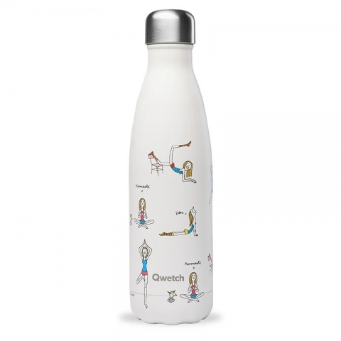 Bouteille isotherme Yoga 500 ML QWETCH QD3358