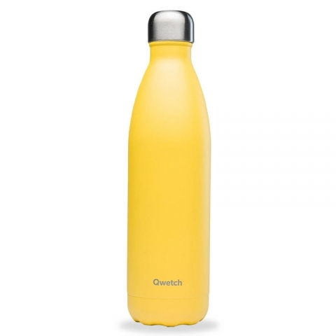 Bouteille isotherme Pop Jaune 750 ML QWETCH QD3218