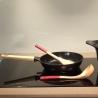 Poêle anti-adhérente 24 cm rose COOKUT MJP24RO-3