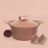 Ma jolie cocotte rose 28 cm COOKUT MAJ28RO 6-12 pers-2