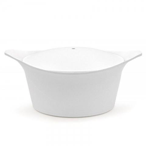 Ma jolie cocotte blanche 28 cm COOKUT MAJ28BL 6-12 pers-1