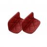 Paire de maniques rouges Cocotte COOKUT MJCM08