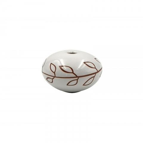Poignée cocotte boule blanche COOKUT MJCP06