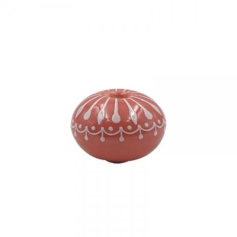 Poignée cocotte boule rose COOKUT MJCP07