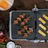 Grill plancha BBQ & Press plaques amovibles SAGE SGR700BSS4GEU1-7