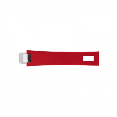 Poignée rouge framboise CRISTEL