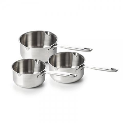 Série de 3 casseroles inox Maestro BEKA-1