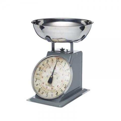 Balance mécanique industrielle blanche 10kg TAYLOR-1
