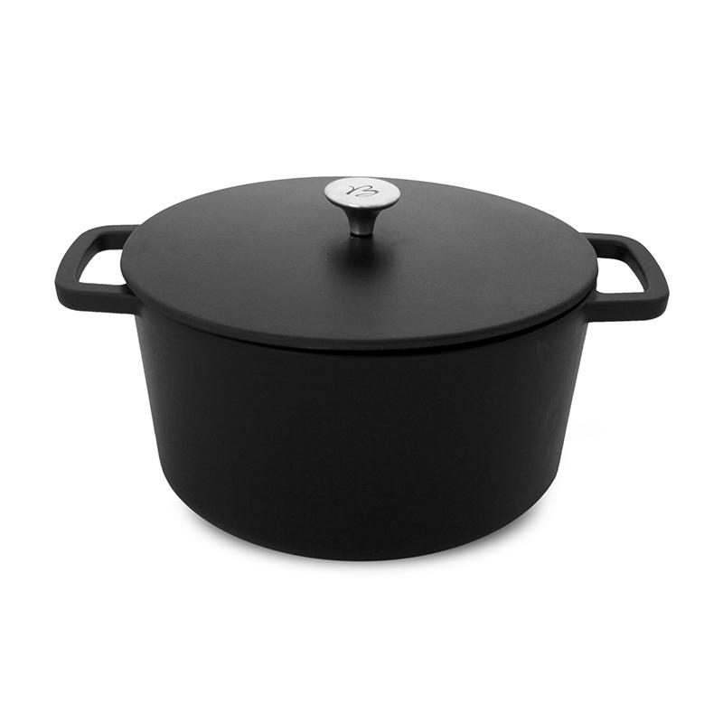 Cocotte 20 CM Black design BAUMALU 390030